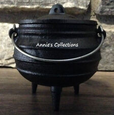 Cast iron Midi pot Cauldron Incense Candles Condiments