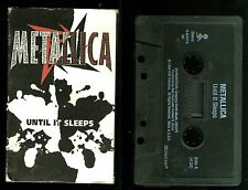 Metallica Until It Sleeps USA Cassette Single Tape