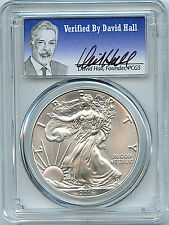 2016 W Burnished Silver Eagle PCGS SP70 First Strike Verified By David Hall C39