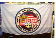 2005 BSA National Scout Jamboree QUEST Olympic Park FLAG - -