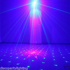 HOT 300mW FULL COLOR RGB LASER STAGE LIGHTING RED GREEN BLUE LED DJ Disco Light