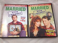 Married With Children Complete Seasons 1 2 3 4 DVD Set Ed O'Neill Katey Sagal NM