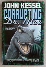 Corrupting Dr. Nice by John Kessel HC (First Edition) time-hopping con artists