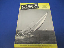 The Camera (Magazine), August 1950, 146 Pgs, Candid Photography, Beach Photos