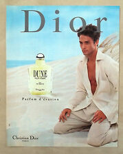 D531-Advertising Pubblicità-1997 - CHRISTIAN DIOR PARIS DUNE EAU DE TOILETTE