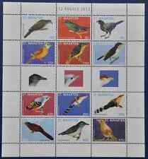 ST. MAARTEN 2013 SHEET BIRDS VOGELS OISEAU ++  MNH POSTFRIS **