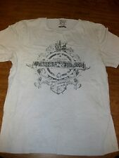 AUTHENTIC THREADS & HEIRS med T shirt nautical Macy's distressed anchor & ship