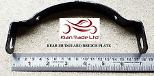 MOTOR CYCLE BIKE NEW ROYAL ENFIELD BULLET REAR MUDGUARD BRIDGE PLATE # 801050