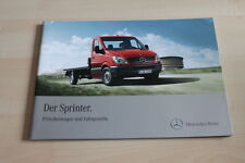 101880) Mercedes Sprinter - Pritsche + Fahrgestell - Prospekt 04/2011