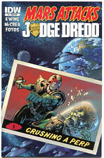 MARS ATTACKS JUDGE DREDD #1 2 3 4, NM, 2013, IDW, Aliens, more MA in store,1-4,S