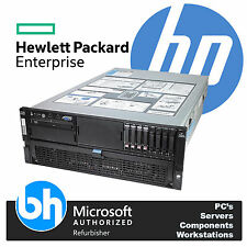 HP ProLiant 4U DL580 G5 4x Quad Core X7350 2.93GHz 64GB RAM P400 RAID Server