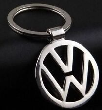 Key Chain Volkswagen Logo Metal Double Sides Keychain Key Ring Free Shipping