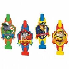 PAW PATROL BLOWOUTS (8) ~ Birthday Party Supplies Favors Chase Rubble Marshall