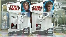 Hasbro - Star Wars Stormtrooper disguide Han solo & Luke set of 2 MISB