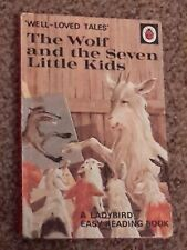 VINTAGE LADYBIRD BOOK WLT THE WOLF & THE SEVEN LITTLE KIDS  606D