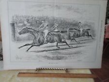 Vintage Print,GOLD CUP ASCOT,Illustrated Sports London,June 1882