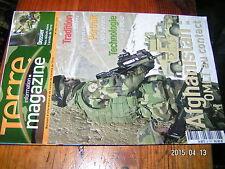 Terre magazine  n°205 Artillerie de demain Equipement protection du combattant