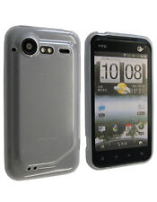 Housse Softygel blanche transparente HTC Incredible S