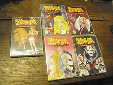 lot de  5 DVD She-ra, la princesse du pouvoir
