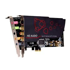AIM Equipped PCI-Express Connection Audio Card CMI8888 Chip SC808  With Tracking