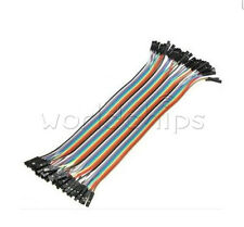 80PCS Dupont wire 20cm Cables Line Jumper 1p-1p pin Connector Female to Female