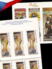 **MNH Czech Republic +++ 150 Years Alfons Mucha (2010) - stamp booklet - E