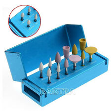 1 Kit Dental Diamond Polishers for Porcelain Set F Clinic Low Speed Contra Angle