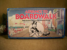 Advance to Boardwalk Parker Brothers Vintage 1985 Classic Property Monopoly Game