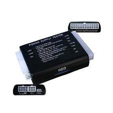 PC 20/24 Pin PSU ATX SATA HD Probador De Fuente De Alimentación-Reino Unido Vendedor