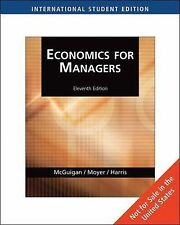 Economics for Managers (AISE), Frederick Harris, R. Moyer, James McGuigan, Good,