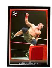 WWE John Cena 2015 Topps Road To WrestleMania Event Used Shirt Relic Card DWC