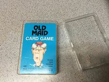 Old Maid Whitman Card Game and Case Vintage 1975 Winkie's