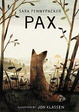 NEW Pax by Sara Pennypacker Hardcover Book (English) Free Shipping