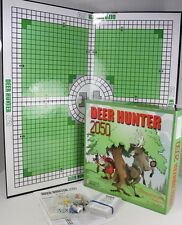 Rare Deer Hunter 2050 Board Game Strategy Pursuit