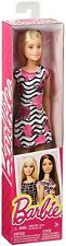 Barbie Fashion Doll White Dress With Pink Flowers