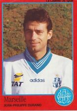N°160 JEAN-PHILIPPE DURAND # OLYMPIQUE MARSEILLE OM STICKER FOOT 97 PANINI
