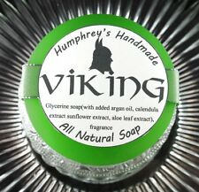 VIKING Men's Drakkar Noir Shave Soap Beard Wash, Glycerin All Natural Argan Oil