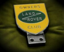 Land Rover Badge Plakette Defender Range Series 2 Freelander Discovery Landy