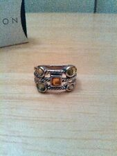 Avon Caylee Twisted Metal Ring, size 8