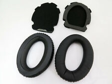 Leather Ear Cushion pads per BOSE Aviazione Cuffie X A10 A20 Nero Nuovo