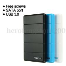 USB 3.0 2.5'' SATA SSD Hard Drive Disk Enclosure External Case Box Anti-shock