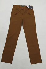 BNWT CAMOMILLA WOMENS TROUSERS RELAXED VINTAGE BROWN DENIM JEANS PANTS W28 uk10