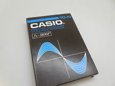 Casio FX-3800P Scientific Calculator VINTAGE NIB LCD 10-DIGIT JAPAN fx-3800P '86