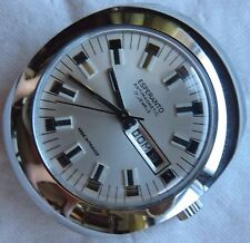 Esperanto mens wristwatch Day and Date nickel chromiun case 38 mm. N.O.S.