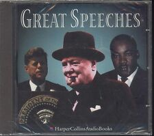 Great Speeches audiobook CD NEW Kennedy Reagan King