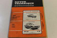 Revue Technique Automobile N°348 Ford Capri II