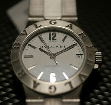 LADIES STAINLESS STEEL BULGARI DIAGONO AUTOMATIC LCV 29S