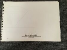 LINN CLASSIK Independent CD/Tuner/Power Amplifier Owners Manual