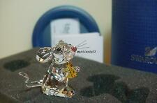 Swarovski Crystal *MOUSE Holding Cheese*  5004691  BNIB ARTIST SIGNED  Mint