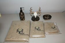 BONE COLLECTOR 6 PIECE BATH ACCESSORY SET - Officially Licensed Michael Wassell